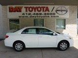 2011 Super White Toyota Corolla LE #51776781