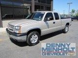 2005 Sandstone Metallic Chevrolet Silverado 1500 LS Extended Cab 4x4 #51777226