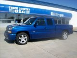 2003 Arrival Blue Metallic Chevrolet Silverado 1500 SS Extended Cab AWD #51777229