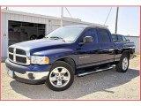 2004 Patriot Blue Pearl Dodge Ram 1500 SLT Quad Cab #51776970