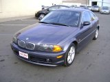 2001 Steel Blue Metallic BMW 3 Series 325i Coupe #5177582