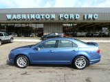 2010 Sport Blue Metallic Ford Fusion SEL #51825034