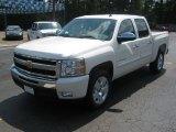2011 White Diamond Tricoat Chevrolet Silverado 1500 LT Crew Cab #51777278