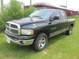 2002 Black Dodge Ram 1500 SLT Quad Cab 4x4 #51824679
