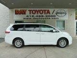 2011 Super White Toyota Sienna XLE #51824924
