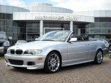 2005 Titanium Silver Metallic BMW 3 Series 330i Convertible #5180535