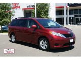 2011 Salsa Red Pearl Toyota Sienna LE #51824852