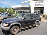 Deep Wedgewood Blue Metallic Ford Explorer in 2000