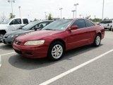 2002 San Marino Red Honda Accord EX V6 Coupe #51848568