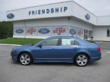 2010 Sport Blue Metallic Ford Fusion Sport #51848545