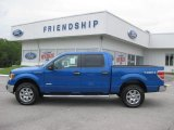 2011 Blue Flame Metallic Ford F150 XLT SuperCrew 4x4 #51848527