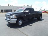 2010 Brilliant Black Crystal Pearl Dodge Ram 3500 Big Horn Edition Crew Cab 4x4 Dually #51856740