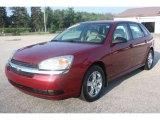 2005 Sport Red Metallic Chevrolet Malibu Maxx LS Wagon #51855735