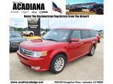 2010 Red Candy Metallic Ford Flex SEL #51856452