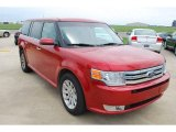 2010 Ford Flex Red Candy Metallic