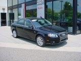 2008 Brilliant Black Audi A4 2.0T quattro S-Line Sedan #51856463