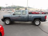 Blue Granite Metallic Chevrolet Silverado 1500 in 2011