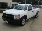 2008 Summit White Chevrolet Silverado 1500 Work Truck Regular Cab #51856772