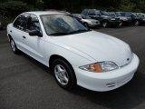 2002 Bright White Chevrolet Cavalier Sedan #51856472