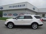 2011 White Platinum Tri-Coat Ford Explorer Limited 4WD #51856252