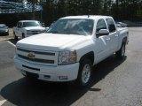 2011 Summit White Chevrolet Silverado 1500 LT Crew Cab 4x4 #51857067