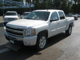 2011 White Diamond Tricoat Chevrolet Silverado 1500 LT Crew Cab #51857068