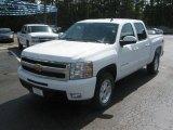 2011 Summit White Chevrolet Silverado 1500 LTZ Crew Cab 4x4 #51857069