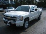 2011 White Diamond Tricoat Chevrolet Silverado 1500 LT Crew Cab #51857070