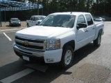 2011 Summit White Chevrolet Silverado 1500 LT Crew Cab 4x4 #51857071