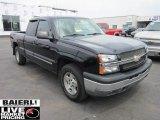 2005 Black Chevrolet Silverado 1500 Z71 Extended Cab 4x4 #51855924