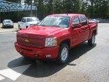 2011 Victory Red Chevrolet Silverado 1500 LT Crew Cab 4x4 #51857072