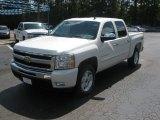2011 Summit White Chevrolet Silverado 1500 LT Crew Cab 4x4 #51857073