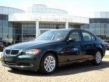 2007 Deep Green Metallic BMW 3 Series 328i Sedan #5180521