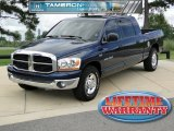 2006 Patriot Blue Pearl Dodge Ram 1500 SLT Mega Cab #51857077