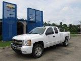2011 Summit White Chevrolet Silverado 1500 LT Extended Cab 4x4 #51856306