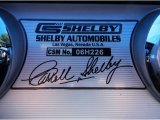 2006 Ford Mustang Shelby GT-H Coupe Info Tag