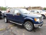 2011 Dark Blue Pearl Metallic Ford F150 XLT SuperCab 4x4 #51856339