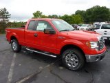 2011 Race Red Ford F150 XLT SuperCab 4x4 #51856340
