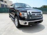 2011 Ebony Black Ford F150 Lariat SuperCrew 4x4 #51856536