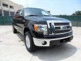 2011 Ebony Black Ford F150 Lariat SuperCrew 4x4 #51856537