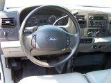 2005 Ford F350 Super Duty XL SuperCab 4x4 Steering Wheel
