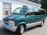 1999 Dark Forest Green Metallic Chevrolet Astro LS Passenger Van #51857155