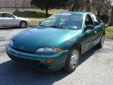 1998 Manta Green Metallic Chevrolet Cavalier Sedan #5176592