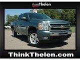 2009 Blue Granite Metallic Chevrolet Silverado 1500 LT Crew Cab 4x4 #51857167