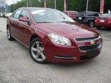 2008 Red Jewel Tint Coat Chevrolet Malibu LT Sedan #51856085