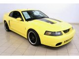 2003 Zinc Yellow Ford Mustang Cobra Coupe #51857173