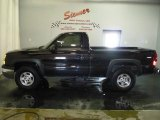 2004 Black Chevrolet Silverado 1500 LS Regular Cab 4x4 #5177959