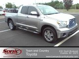 2010 Silver Sky Metallic Toyota Tundra Limited Double Cab #51856919