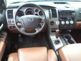 2010 Toyota Tundra Limited Double Cab Red Rock Interior