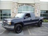 2005 Dark Blue Metallic Chevrolet Silverado 1500 LS Extended Cab 4x4 #5176659